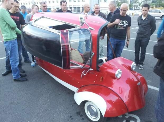 Раритеты на наших дорогах. Kabinenroller Messerschmitt