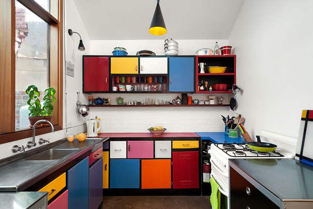 Потрясающе кухни в эклектичном стиле от лучших мировых дизайнеров