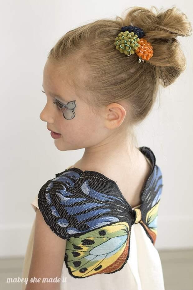 Платье с бабочкой (Diy)