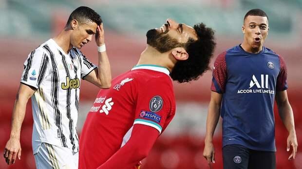 Расклады в топ-5: «Ювентус» и «Ливерпуль» могут остаться без Лиги чемпионов, «ПСЖ» — без титула