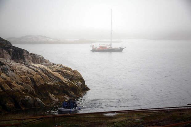 Гренландия на яхте: 2 недели на краю света