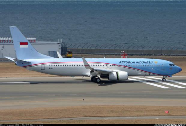 Индонезия. Борт номер один, президенты, самолёты