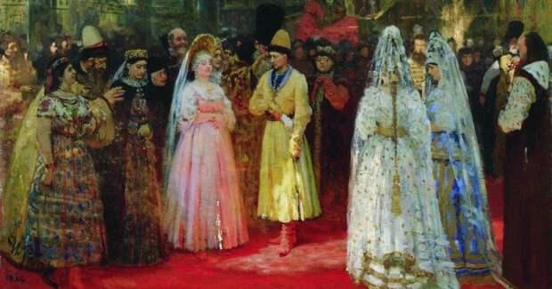 Как выбирали невест русские цари