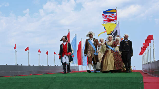 Как отметили День ВМФ в Севастополе. Фоторепортаж