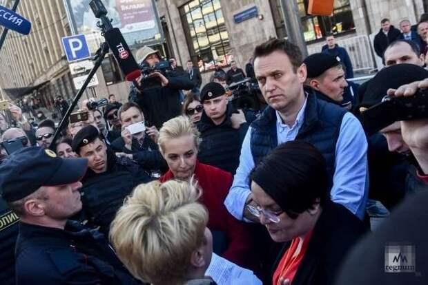 Цель и причина «бунта навальных» в России