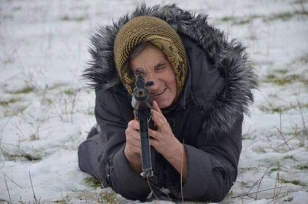 Донецк – духовная сестра бабушки-бандерiвки, Радоница и очередной укробстрел