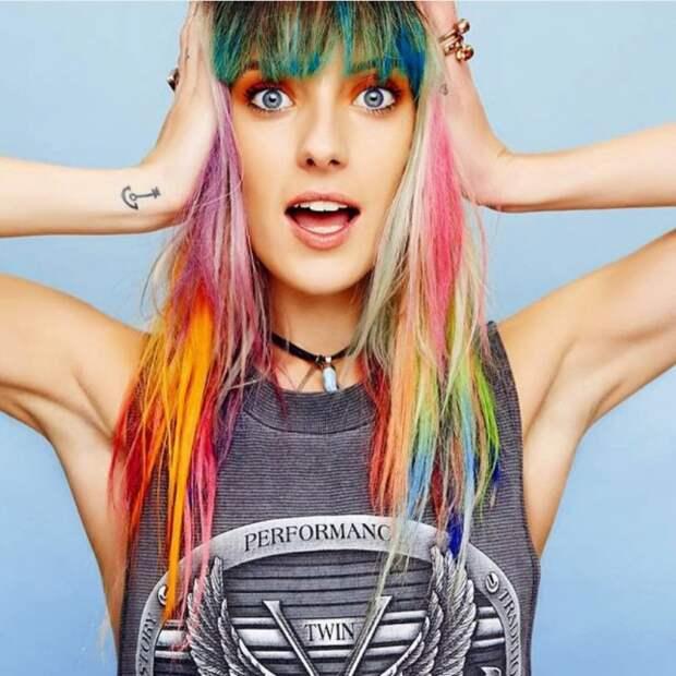 Vivid-Rainbow-Hair-645x646