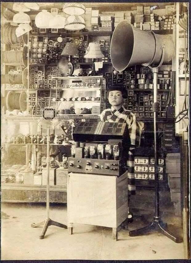 Радиотовары, Япония. 1930-е г. история, ретро, фото, это интересно