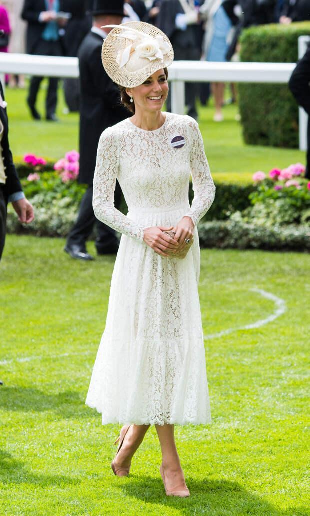 Кейт Миддлтон на Royal Ascot, 2016