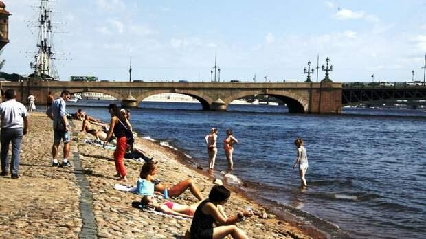 «Штурм очередного рекорда»: в среду в Петербурге воздух прогреется до +34 градусов