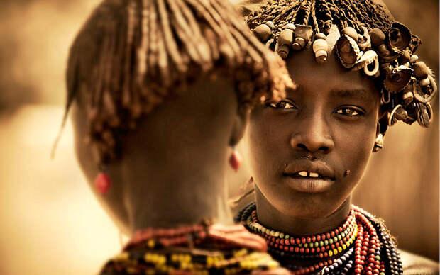 Поразительные фото эфиопских племен