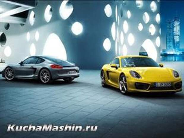 В Россию привезли новое спорт-купе Porsche Cayman