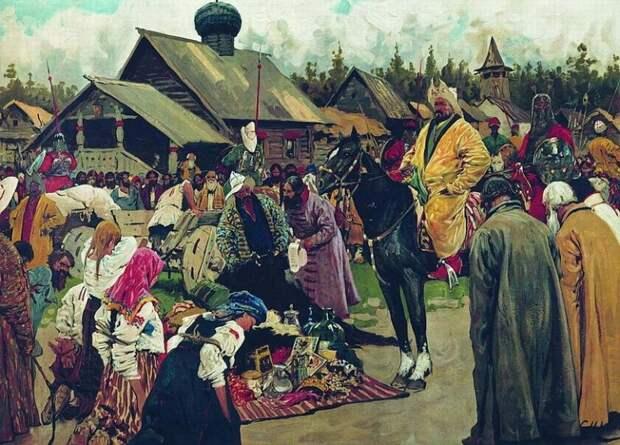 К вопросу о русской дани в Золотую Орду