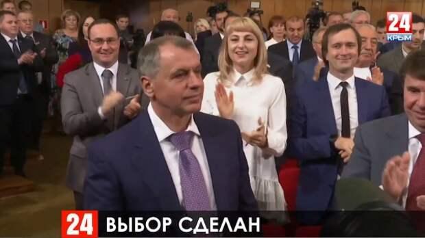 Единогласно: Владимир Константинов – председатель Государственного Совета Республики Крым второго созыва