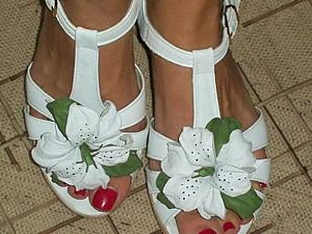 Делаем белые лилии для туфелек   Ярмарка Мастеров - ручная работа, handmade
