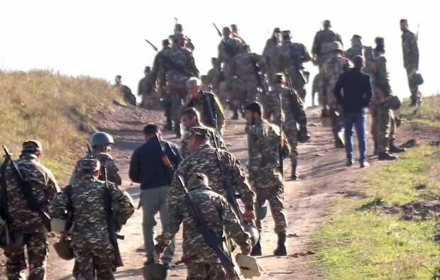 Силы НКР начали окружение азербайджанской армии под Шуши