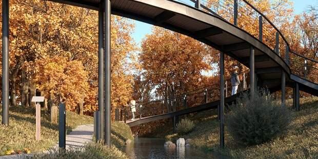 Пешеходный маршрут появится в северной части поймы реки Чермянки