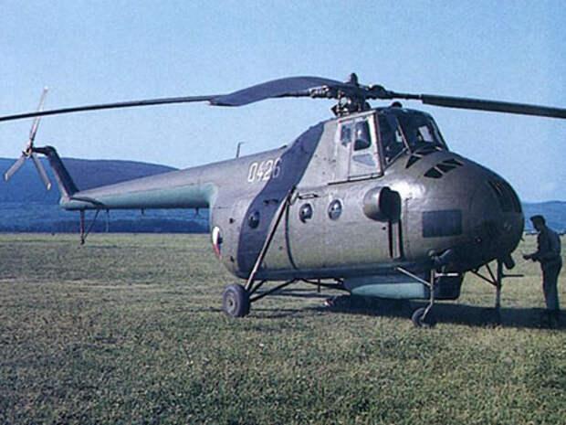 Ми-4 стал первым экспортным продуктом КВЗ
