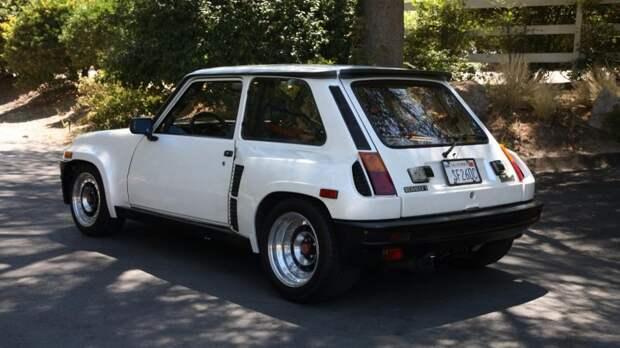 33-летний спортивный хэтчбек Renault продали за кругленькую сумму renault, авто, аукцион, интересный автомобиль, олдтаймер, ралли, ретро авто