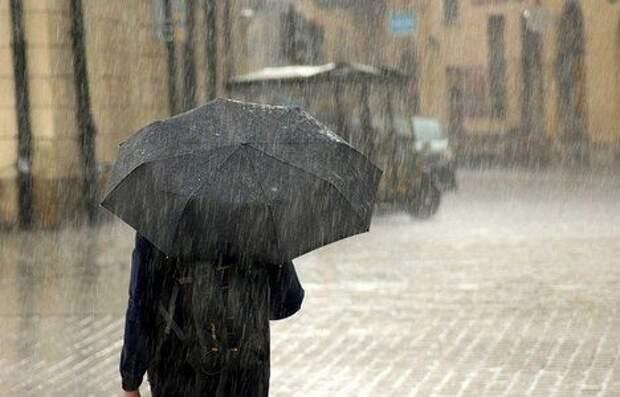 Сильные ливни и похолодание: погода в Крыму на 28 февраля