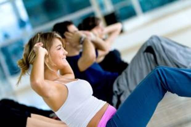 Тренируем мышцы живота. Гимнастика для мужчин и женщин