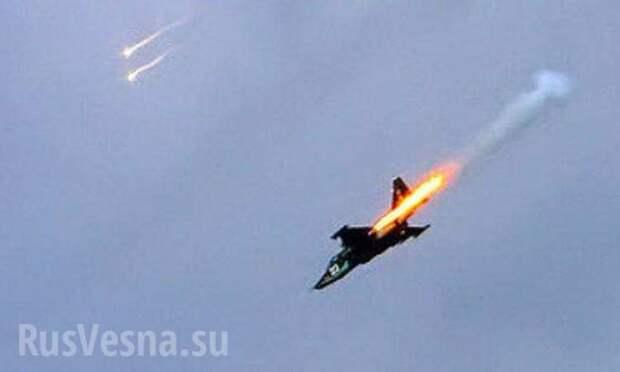 Украинцы сбили российский СУ-25 в небе над Сирией из секретного оружия (ВИДЕО)   Русская весна