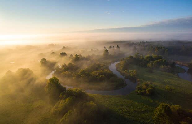 20 самых красивых фотографий с дрона