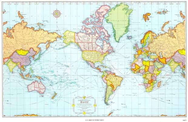 worldmaps03 Карты мира—как они выглядят в разных странах