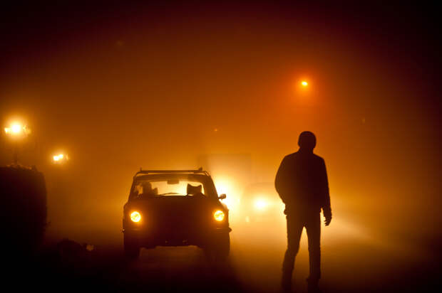 Пять советов для вождения автомобиля в тумане