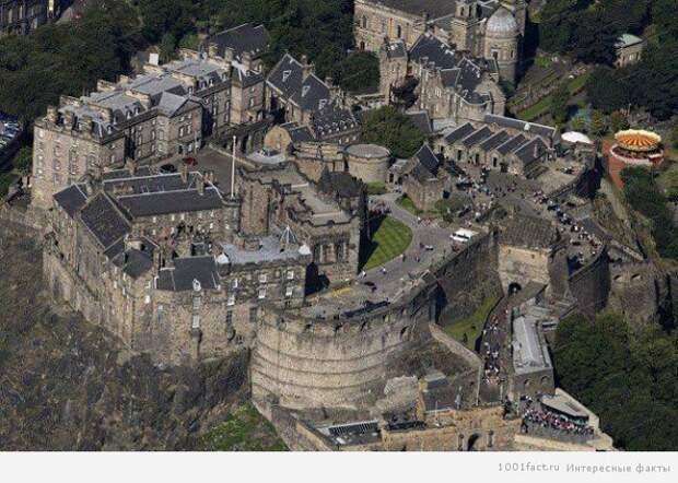Эдинбургский замок, Шотландия история, мистика