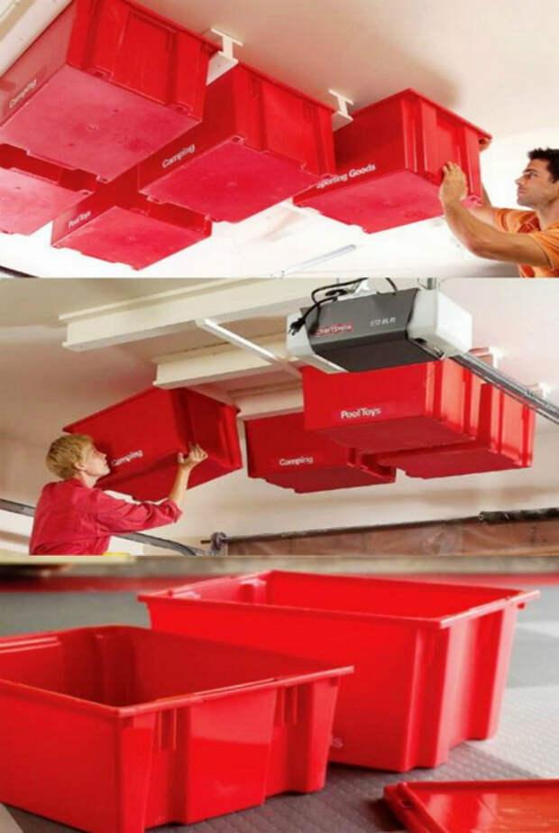 Как организовать пространство в гараже