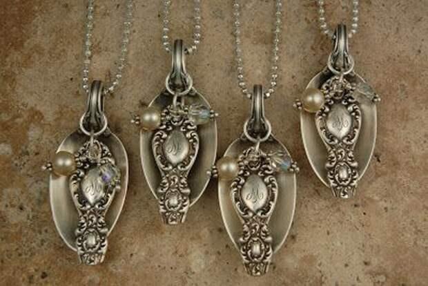 Украшения из антикварного серебра (подборка)