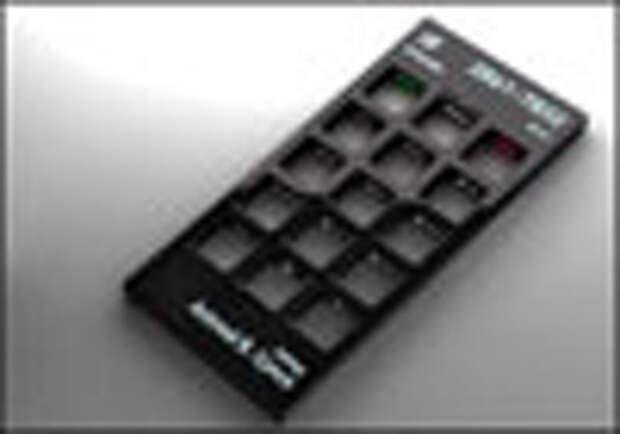 Новый дизайн для мобильного: вместо кнопок - дырки