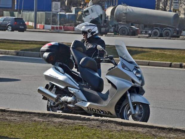 Видеокамеры начали ловить мотоциклистов