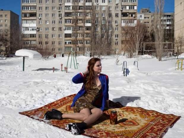 Непонятная любовь русских к коврам