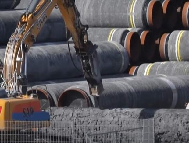 """""""Газпром"""" объявил о завершении строительства """"Северного потока - 2"""""""