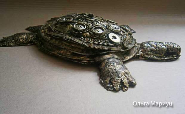 Черепаха стимпанк - эффектный подарок своими руками - Поделки своими руками: Черепаха стимпанк МК