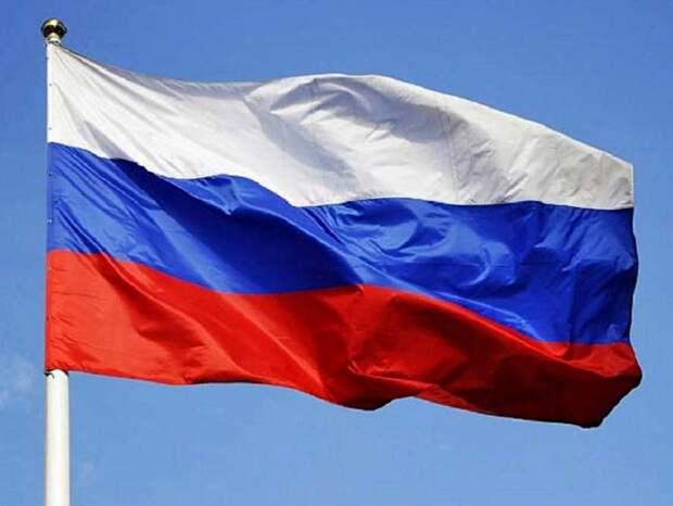 В Славянске украинский активист установил российский флаг