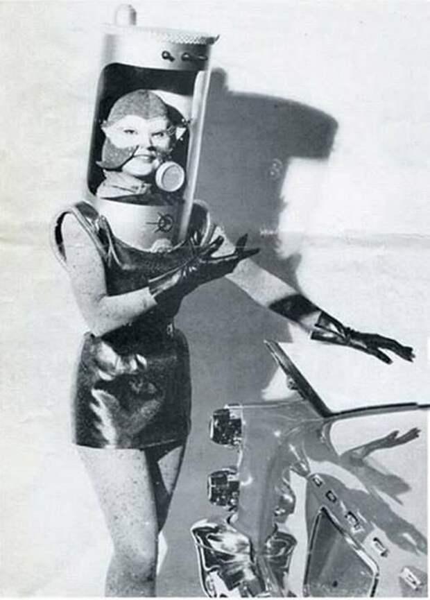 Ретро любовь - космические фантазии о девушках и роботах
