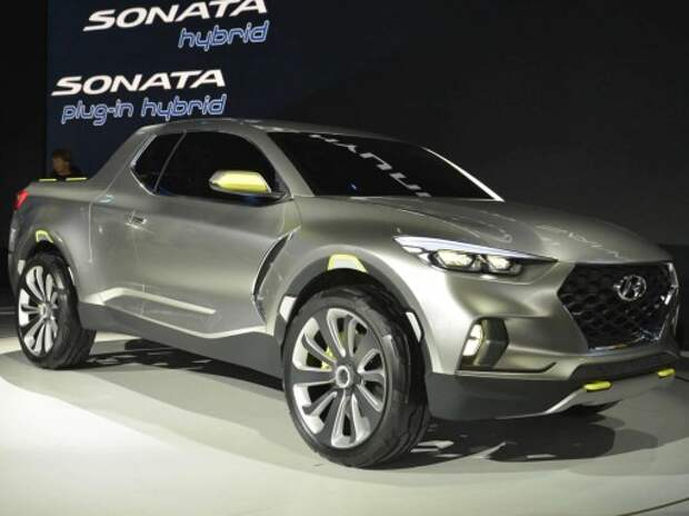 Hyundai начнет выпускать пикапы