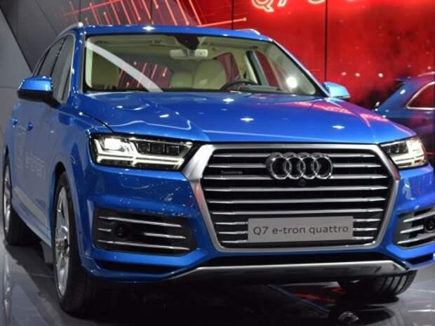 Новый Audi Q7 будет стоить в России от 3,63 млн рублей