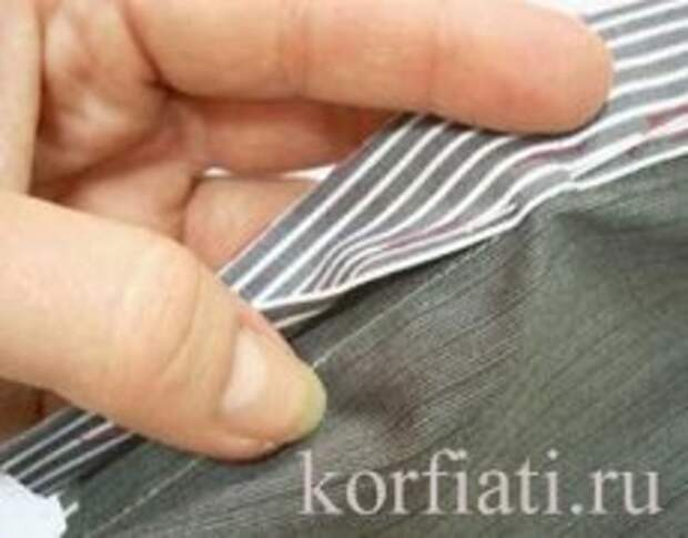 Мастер-класс по шитью - планка рубашки