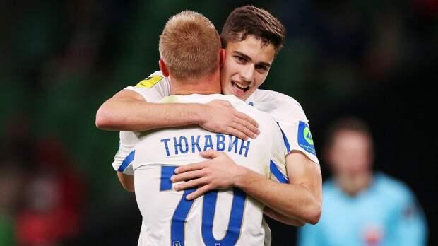 Юные Захарян и Тюкавин вытащили матч для «Динамо» с 0:2! «Краснодар» из-за Кайо 75 минут играл в меньшинстве