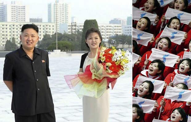 Жена Ким Чен Ына Ли Соль Чжу в прошлом - чирлидер.