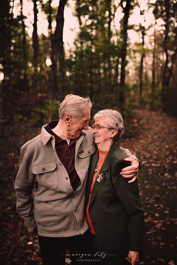 Мистер и миссис Райнехамер. Фото: Maegan Lutz.