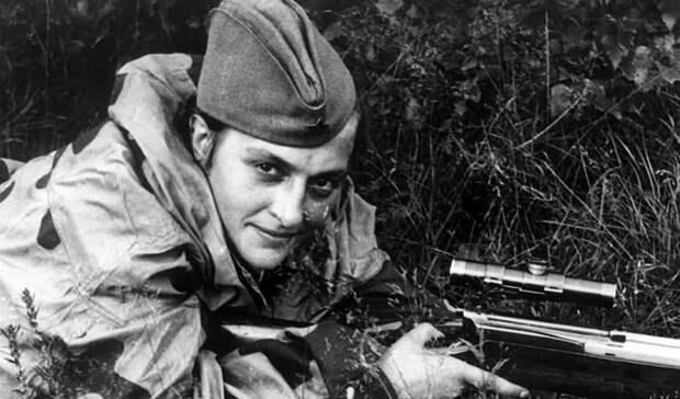 Линия фронта Великая Отечественная, Женщины на войне, снайпер №1