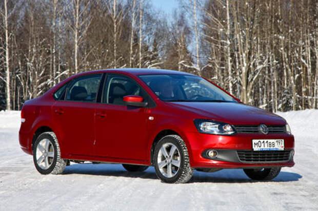VW Polo из парка ЗР: шумный пенсионер