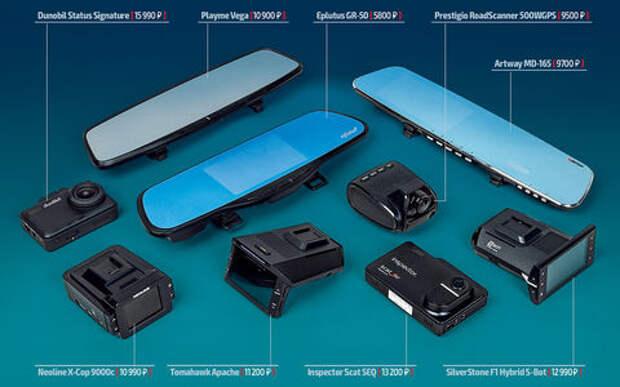 Классический или в виде зеркала — какой видеорегистратор с радар-детектором лучше