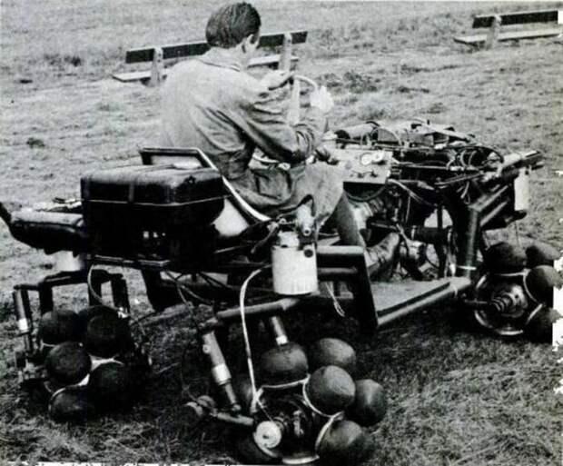 Само себя шагающее колесо.   Фото: LiveJournal.