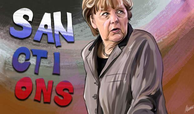 Меркель пригрозила России несуществующими мерами из-за транзита газа через Украину